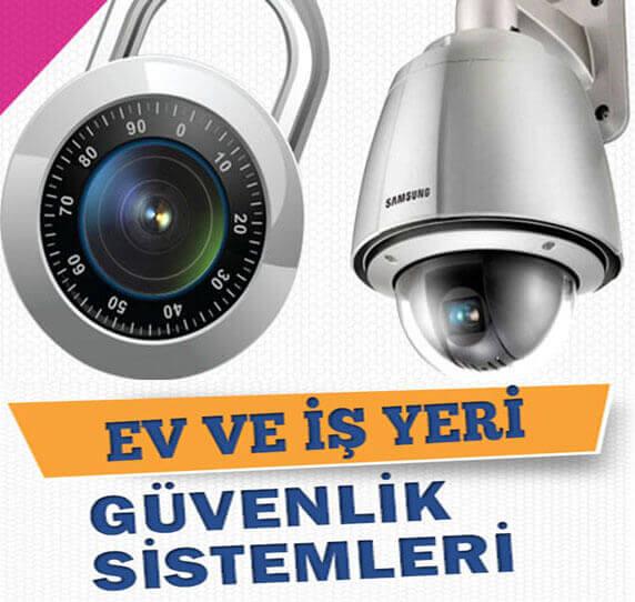 Mezitli güvenlik kamera