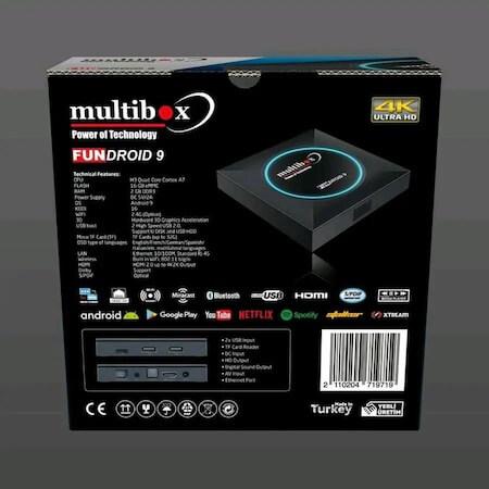 Multibox Fundroid 9 Android Uydu Alıcısı3