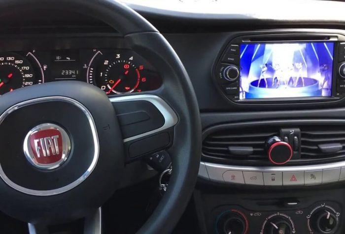 Fiat Egea Multimedya Teyp nagivasyon