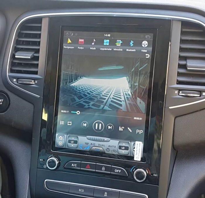 Megan 4 Multimedia Android Navigasyon tesla ekran