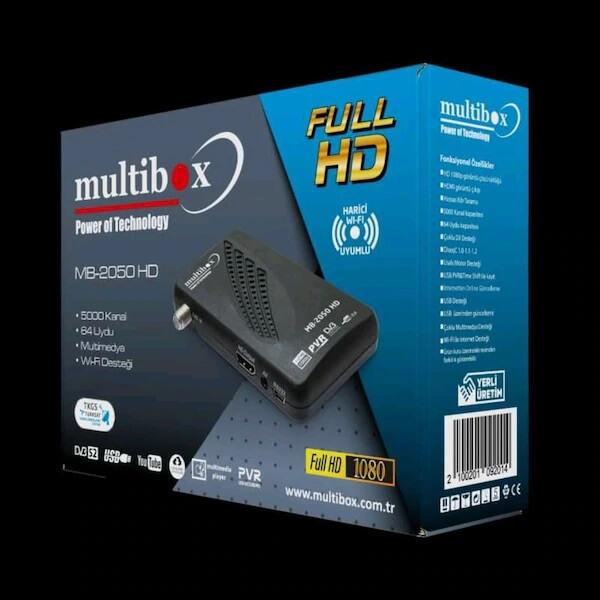 Multibox 2050 Mini HD Uydu Alıcı 3