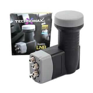 Technomax 4 lü Lnb gold