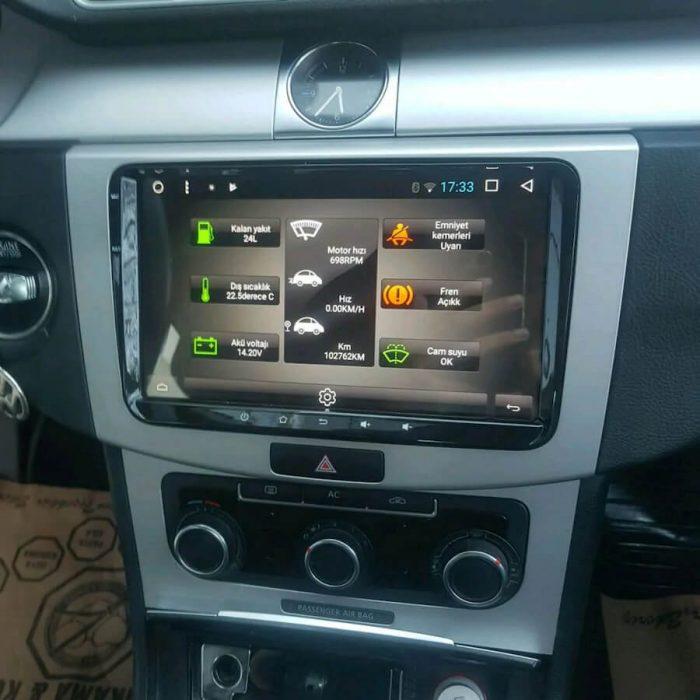 Volkswagen android multimedya passat