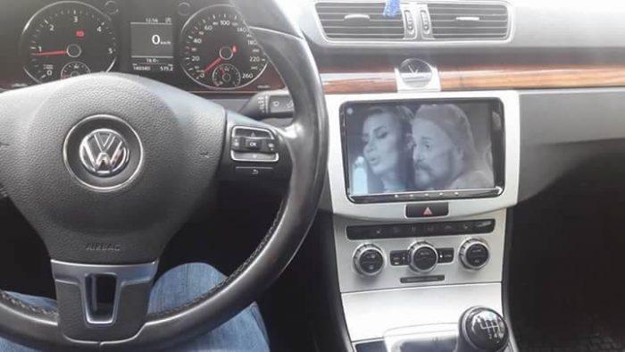 Volkswagen android multimedya teyp