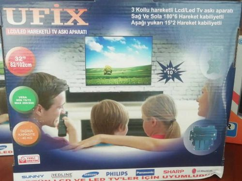 Ufix hareketli tv askı aparatı
